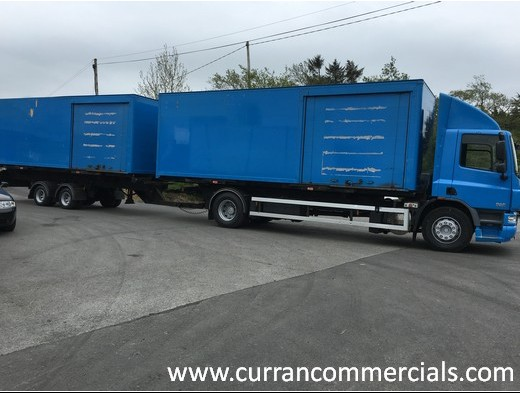 Drag It Out 2011  >> 2011 Daf Cf 75 310 Drag Out Fit With Demountable Boxes Truck For