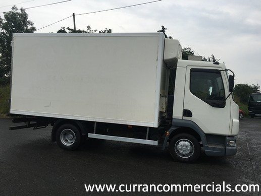 2004 Daf Lf 45 150 7 5 Ton 15ft Fridge Truck For Sale In