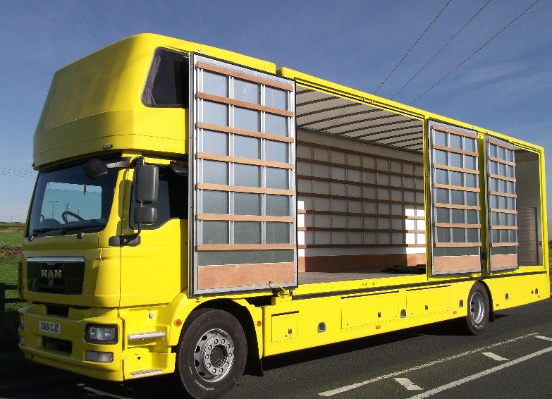 2012 Man Tgm 250 Pod 5 Container Truck For Sale In